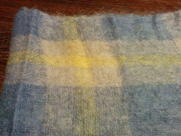 мохеровый шарф размер 170х50см