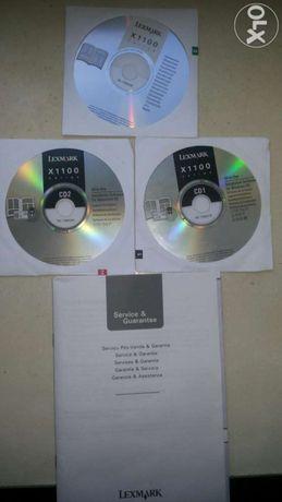 Руководства по эксплуатации и установочные диски