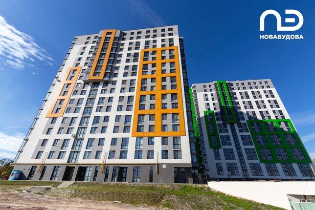 Остання 2к квартира з панорамними вікнами 60.93м2 ЖК Щасливий