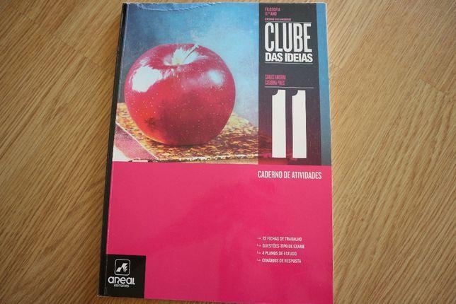 """Manual+caderno de atividades """"Clube das ideias"""" filosofia 11ºano"""