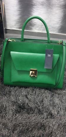 Torebka M&S zielona