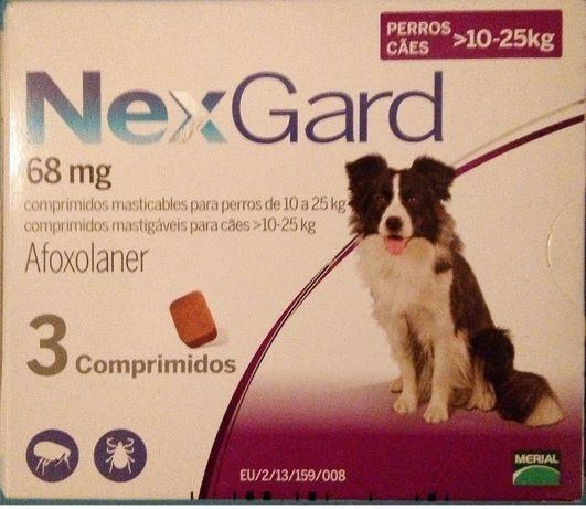 Nexgard 10-25 kgs