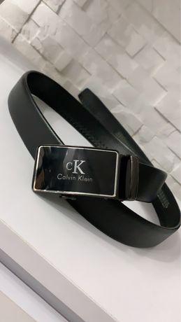 Pasek męski z klamrą CK Calvin Klein czarny