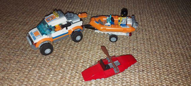 Jipe da Guarda Costeira (LEGO CITY)