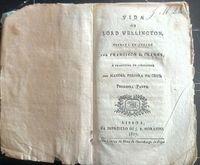vida de lord wellington / francisco l.clarke