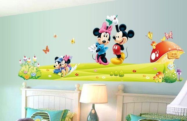 Naklejki na ścianę Myszka Mickey WS-0085