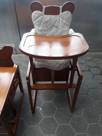 Cadeira bebé refeição e Secretária