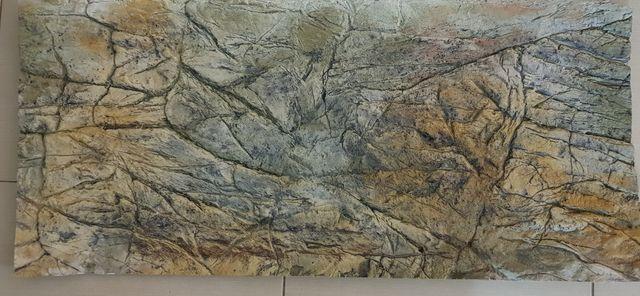 Tło do akwarium 200L - 98x44cm