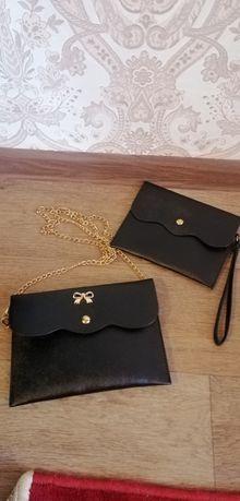 Набор клатч + кошелёк