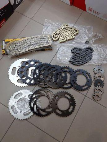 Звезды и цепи на питбайк pitbike kayo viper geon 428 420 шаг