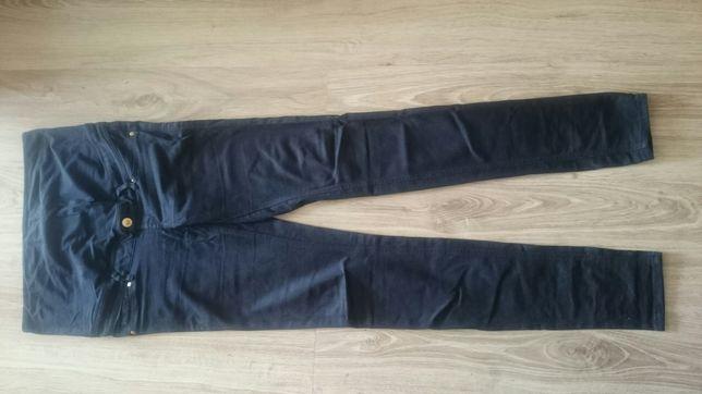 Spodnie granatowe ciążowe r.s H&M