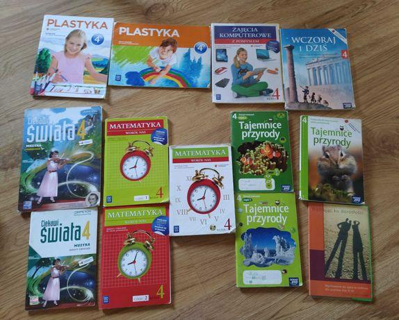 Podręczniki, książki kl4