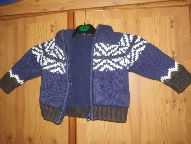 Ciepły sweterek na dziecko w wieku 18-23 miesięcy