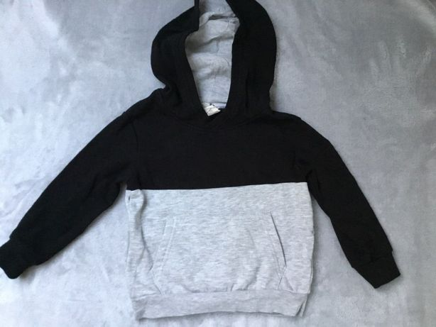 Bluza z kapturem kangurka H&M r. 98/104