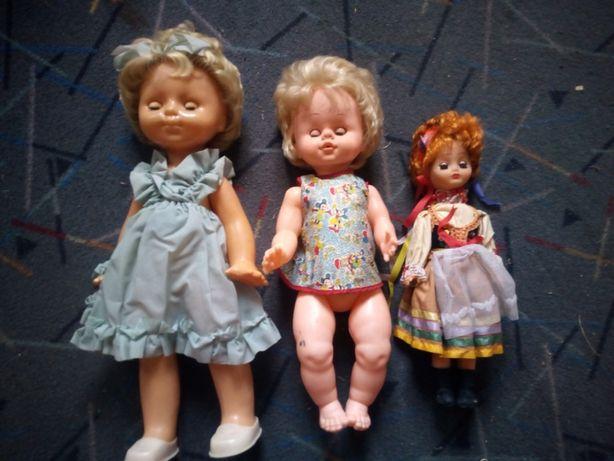 Super Okazja !!! Lalki z Zamykającymi się Oczami Vintage PRL !!!
