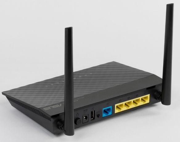 WiFi роутер ASUS RT-AC51U, двухдиапазонный 2,4 и 5 ГГц, USB, NFS, DLNA