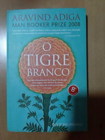 O tigre branco- Livro