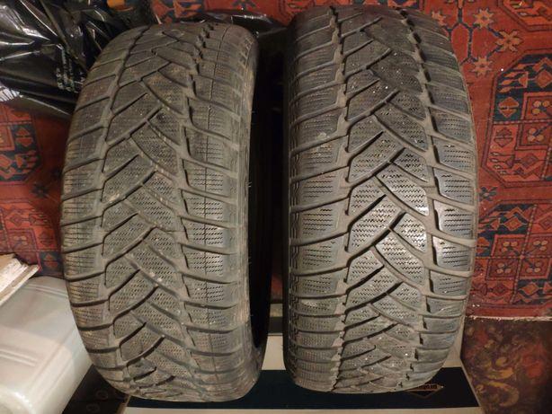 2x Opony zimowe Dunlop Winter sport 3m 225/50/17 6,5-7 mm
