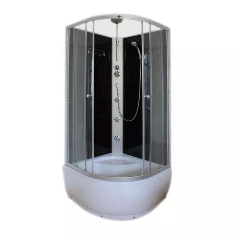Kabina prysznicowa z hydromasażem, wysoki brodzik Nowa 90x90