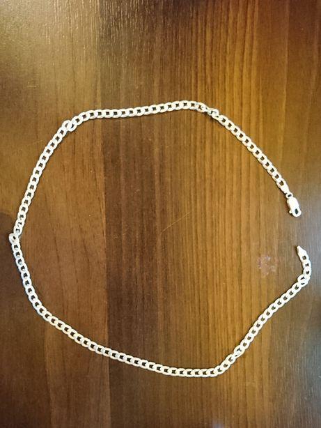 Męski srebrny łańcuszek