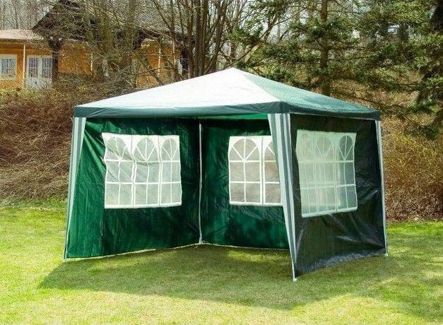 Садовий павільйон 3х3 - 4 стінки / Шатер Палатка + вікна