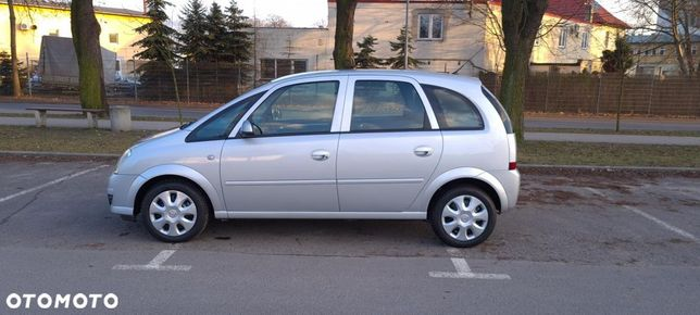 Opel Meriva Klima*100% Serwis*100% ORYGINAŁ lakier*Zarejestrowany