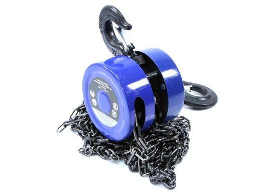 Wciągarka wyciągarka łańcuchowa 2T do silnika ręczna Mar-Pol