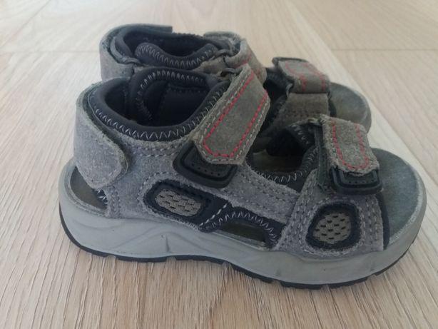 Кожаные босоножки сандали для мальчика 24 р, стелька 16 см