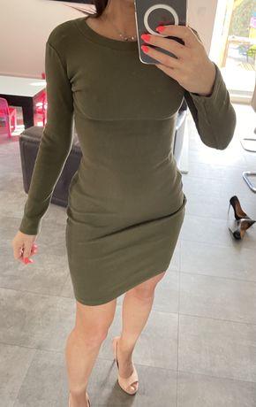 Sukienka lilalou khaki