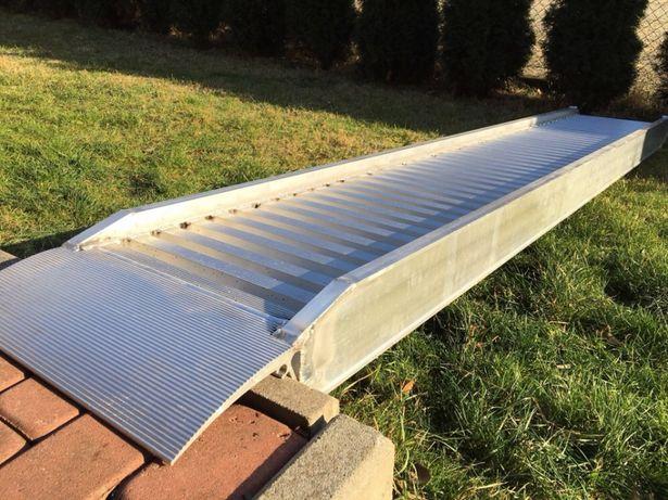 NOWE najazdy rampy aluminiowe - OKAZJA! – cena konkurencyjna!