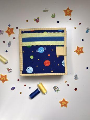 Развивающая книжка из фетра - том третий из серии книг «Космос»