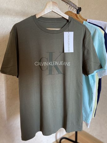 Футболка calvin klein, tommy, levis, guess