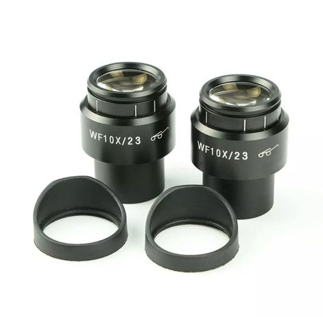 Oculares p/ microscopio stereo WF10x 23mm