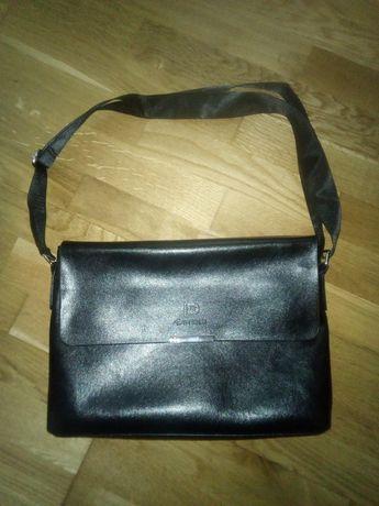 Мужская сумка, портфель кожа