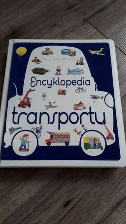 Książka dla dzieci Encyklopedia transportu