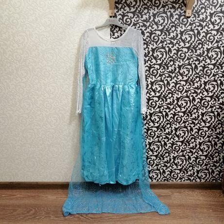 Карнавальный костюм платье Эльза Frozen Крижане Серце Холодное Сердце