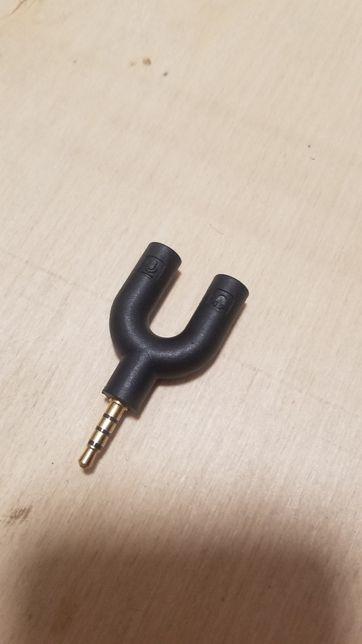 Спліттер перехідник для підключення 2 пар навушників