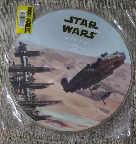 """Picture Disc 10"""" - Star Wars - The Force Awakens by John Williams"""