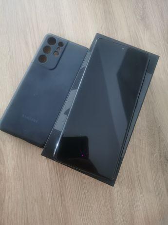 Samsung Galaxy S21 ultra + oryg etui + ładowarka. Nowy