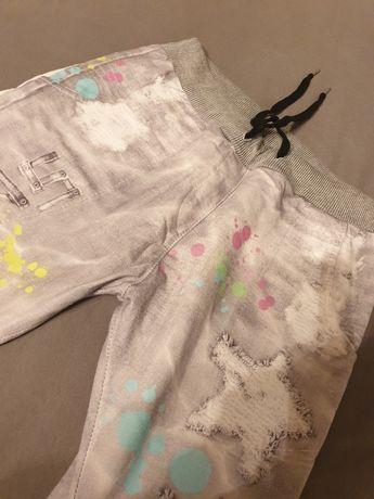 Szare krótkie spodnie