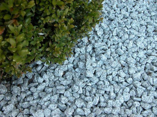 Grys granitowy 16/22 mm, dalmatyńczyk, jasny grys, kamień do ogrodu,