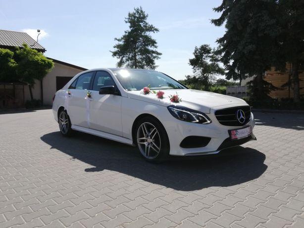 Auto do ślubu Samochód do ślubu biały Mercedes