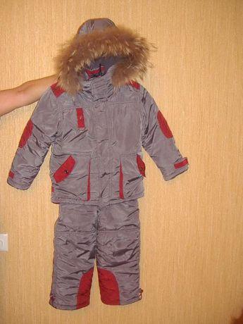 Зимний комплект RM kids для мальчика в идеальном состояние на 5-7 лет