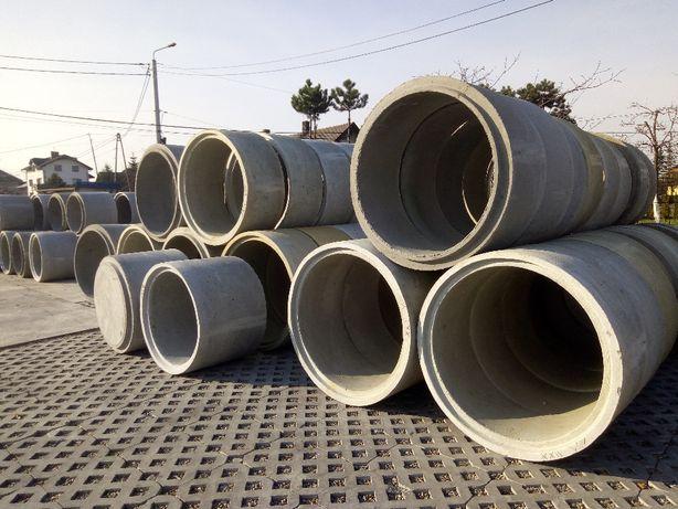 Kręgi betonowe fi 1000/500, kręg, krąg, studnia, wodomierz, przepust