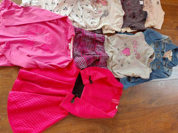 Ubranka dla dziewczynki 110-116