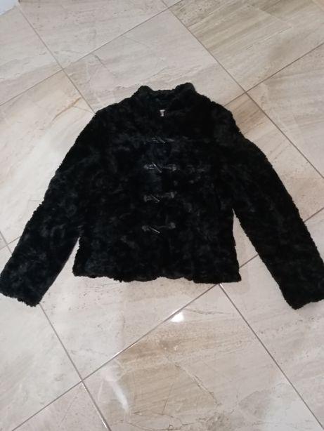 Futerko sztuczne damskie czarne 36