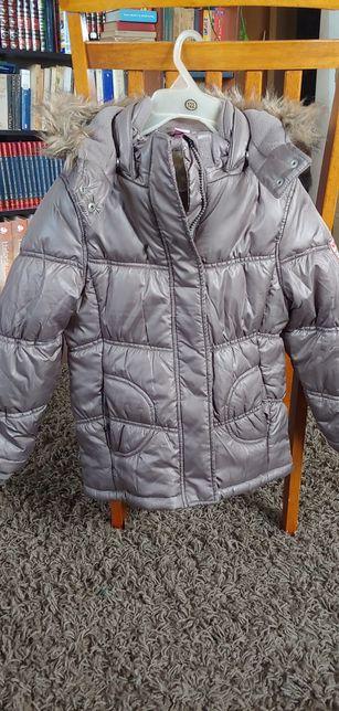 Ciepła, zimowa kurtka, roz.122