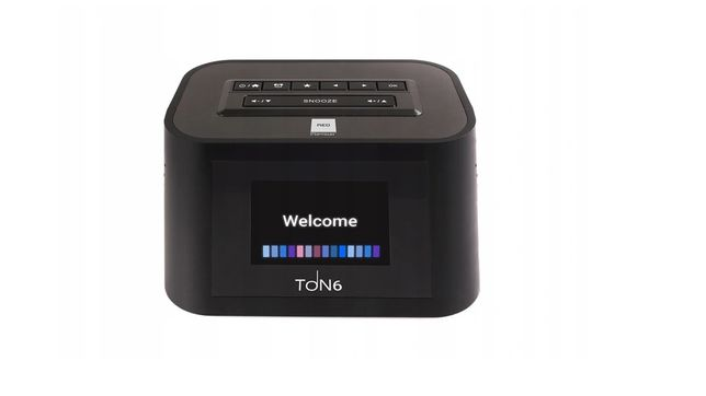 Radio internetowe + FM TON6 z Wi-Fi czarne OPTICUM