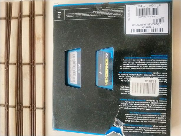 Оперативная память Corsar ddr3-1600 8192mb PC3-12800(kit of 2×4098)Ven