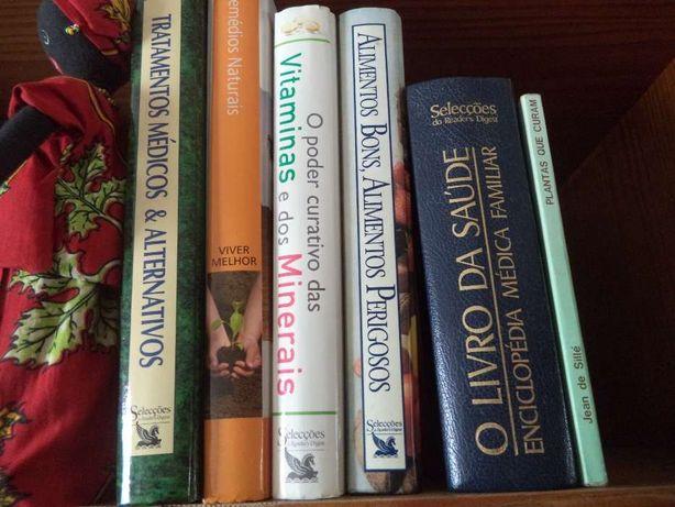 Livros de saúde -medicinas alternativas l